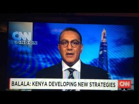 CNN interview with Cabinet Secretary Najib Balala - London 2016