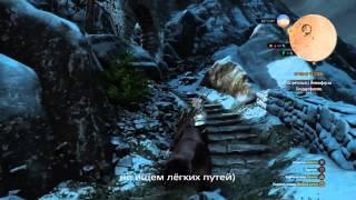 Ведьмак 3 ,труднодоступное место силы на Скелеге