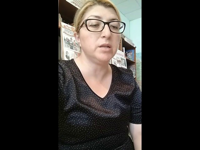 Изображение предпросмотра прочтения – ЗухраМагомедова читает произведение «Признание» А.Т.Твардовского