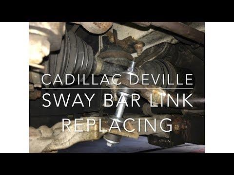 Cadillac Deville Sway Bar Links Repair