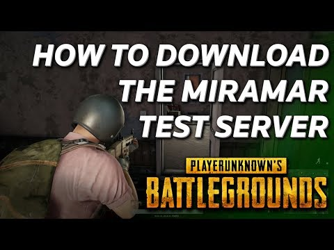 How To Download The PUBG TEST SERVER On Xbox One, And When You Can Play MIRAMAR!