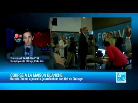 Barack Obama a passé la journée dans son fief de Chicago
