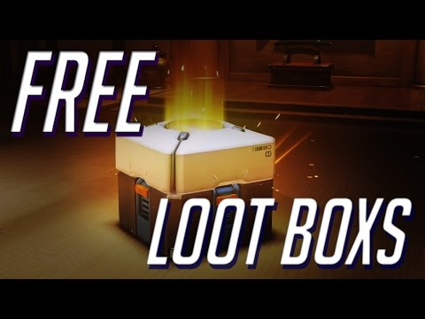 How To Get Free Loot Boxes (easiest Way)- Overwatch