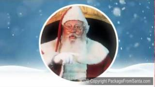 Letters from Santa Claus with Magic North Pole
