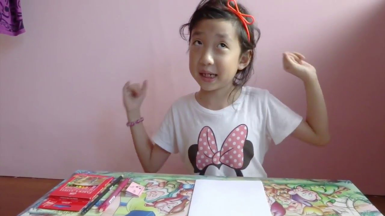 How to draw menggambar Shopkins LippyLip dan Secret Sally