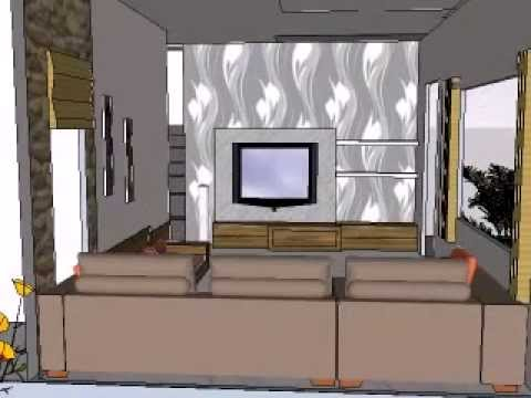 Living Room Decoration Designs And Ideas 3 BHK ROW HOUSE Pune