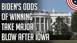 Biden Collapses in Betting Markets - Bernie Frontrunner - 2020 Democratic Primary - February 2020