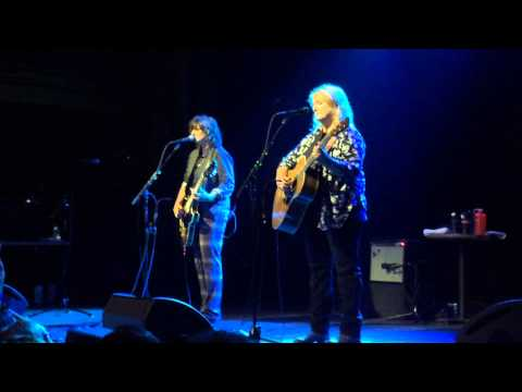 Indigo Girls SHARE THE MOON Survivors Mitzvah Project Webster Hall NYC 5/9/15
