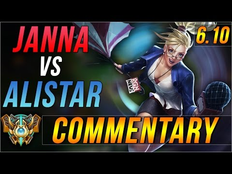 [6.10] Challenger Janna Support Commentary [Live Stream]