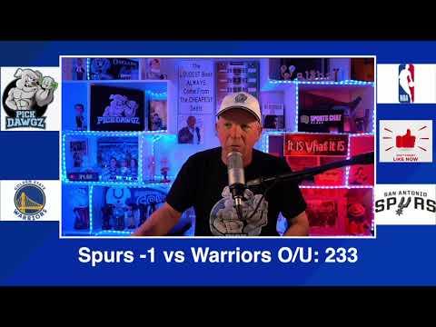 San Antonio Spurs vs Golden State Warriors 2/8/21 Free NBA Pick and Prediction NBA Betting Tips