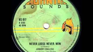 Junior English - Never Loose Never Win