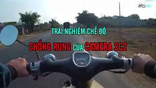 Trải Nghiệm Chế Độ Chống Rung Của Camera Hành Trình SC2   Action Camera SC2
