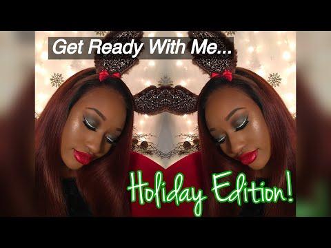 Holiday - Christmas Makeup Tutorial   GRWM   Smokey Eye   LifeofChelsea   Chelsea Summers