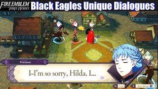 FE3H Black Eagles Unique Dialogues - Fire Emblem Three Houses