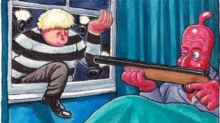 Steve Bell at the Conservative party conference: