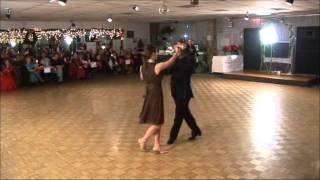 JAMES HEATH AND KORY GIGLIO - FOXTROT WEDDING DANCE DEMO - 2006 WINTER SHOWCASE