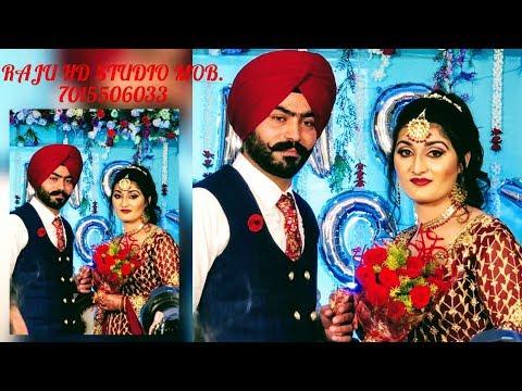 Rupinder Kaur Weds Gurpreet Singh Ring Ceremony By. Raju HD Studio Mob.7015506033