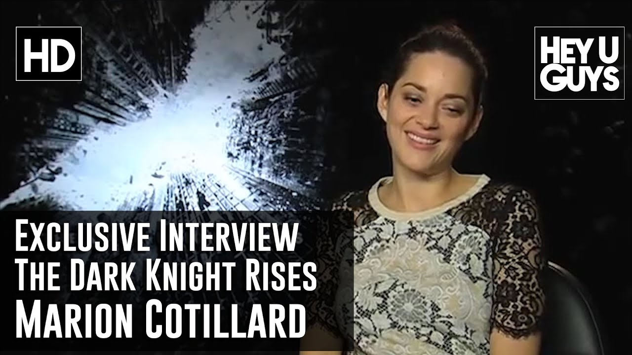 Marion Cotillard Exclusive Interview The Dark Knight Rises Youtube