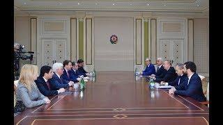 Президент Ильхам Алиев принял делегацию во главе с министром экономического развития России