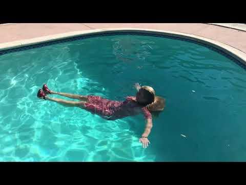 April Print Dress Wet Video
