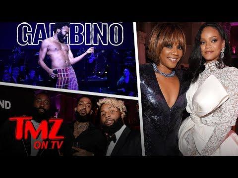 Rihanna's Diamond Ball Was Swarming With Celebs | TMZ TV