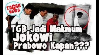 TGB Jadi Makmum Jokowi, Sebut Bacaannya Terang, Kapan Prabowo Jadi Imam Shalat
