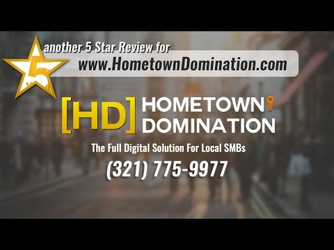 Hometown Domination Melbourne FL  Five Star Review by Dr. G.