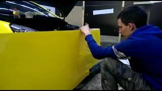 Оклейка такси в Москве -  Белый и Желтый цвет(, 2018-02-17T17:29:48.000Z)