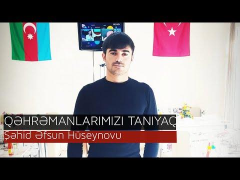QƏHRƏMANLAR UNUDULMUR- Şəhid Əfsun Hüseynovu
