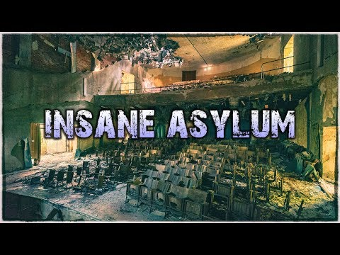 ABANDONED ASYLUM with Theater + Church | Urbex Europe Road Trip