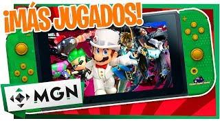Nintendo Switch: Los Juegos más jugados del 2018 | MGN