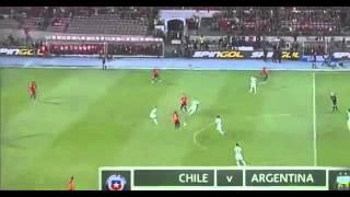 Чили 1:2 Аргентина