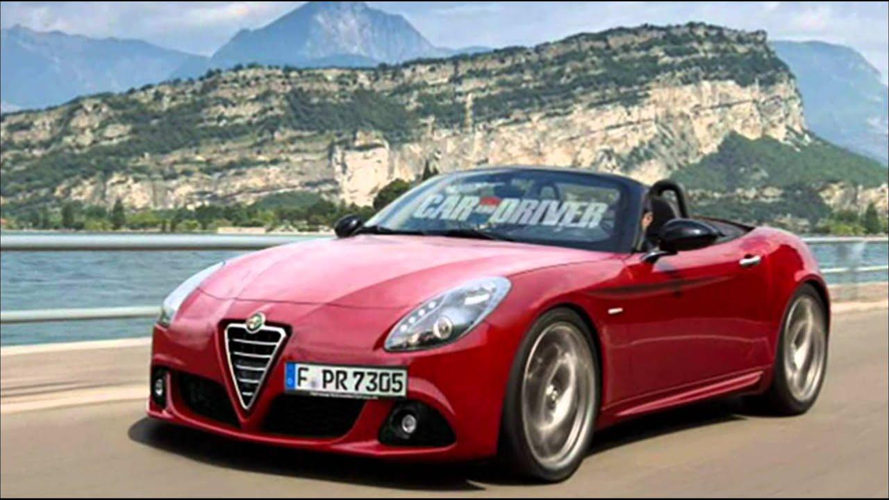 2015 Alfa Romeo Spider Duetto Preview 1.4 TB MultiAir 168 ...