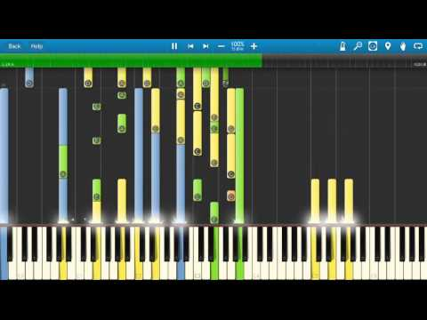 Queen - Friends Will Be Friends - Piano Tutorial - Synthesia