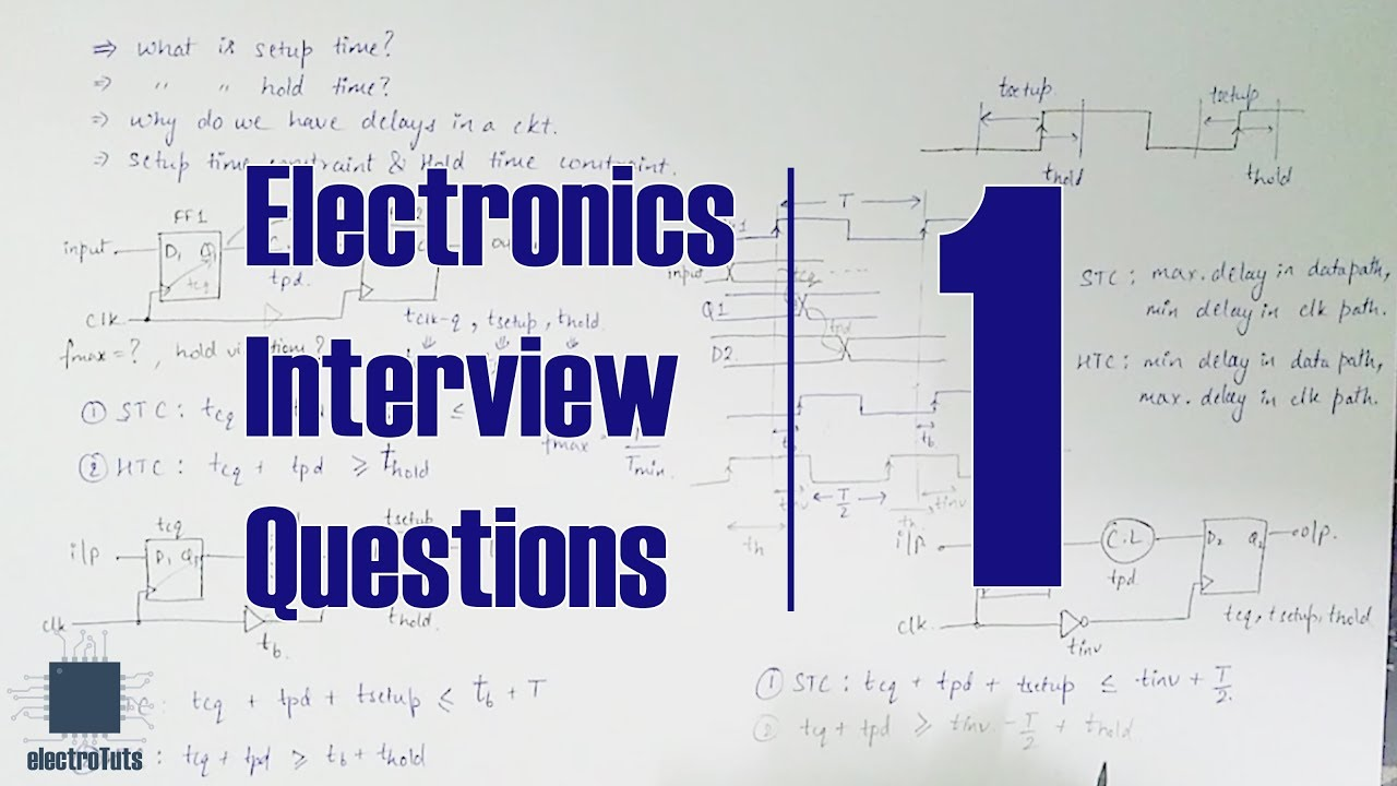 Electronics Interview Questions Sta Part 1 Youtube
