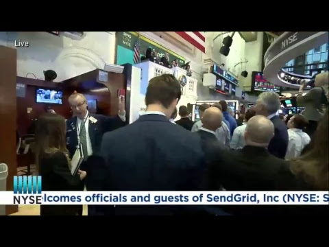 Watch Live as SendGrid (NYSE: SEND) rings the Opening Bell in celebration of their IPO