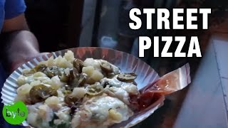 Street Pizza - Pizza Den - Hyderabad Street Food