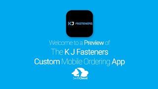 K J Fasteners - Mobile App Preview - KJF753W