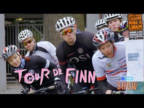 Tour de FINN. Moro på sykkel! | FINN show episode 9