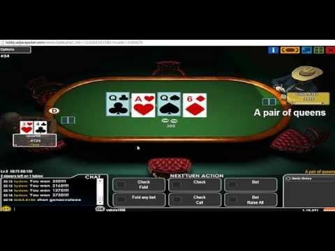 ● Poker / პოკერი აჭარაბეთი / adjarabet.com / SIT&GO ● part 3 ●