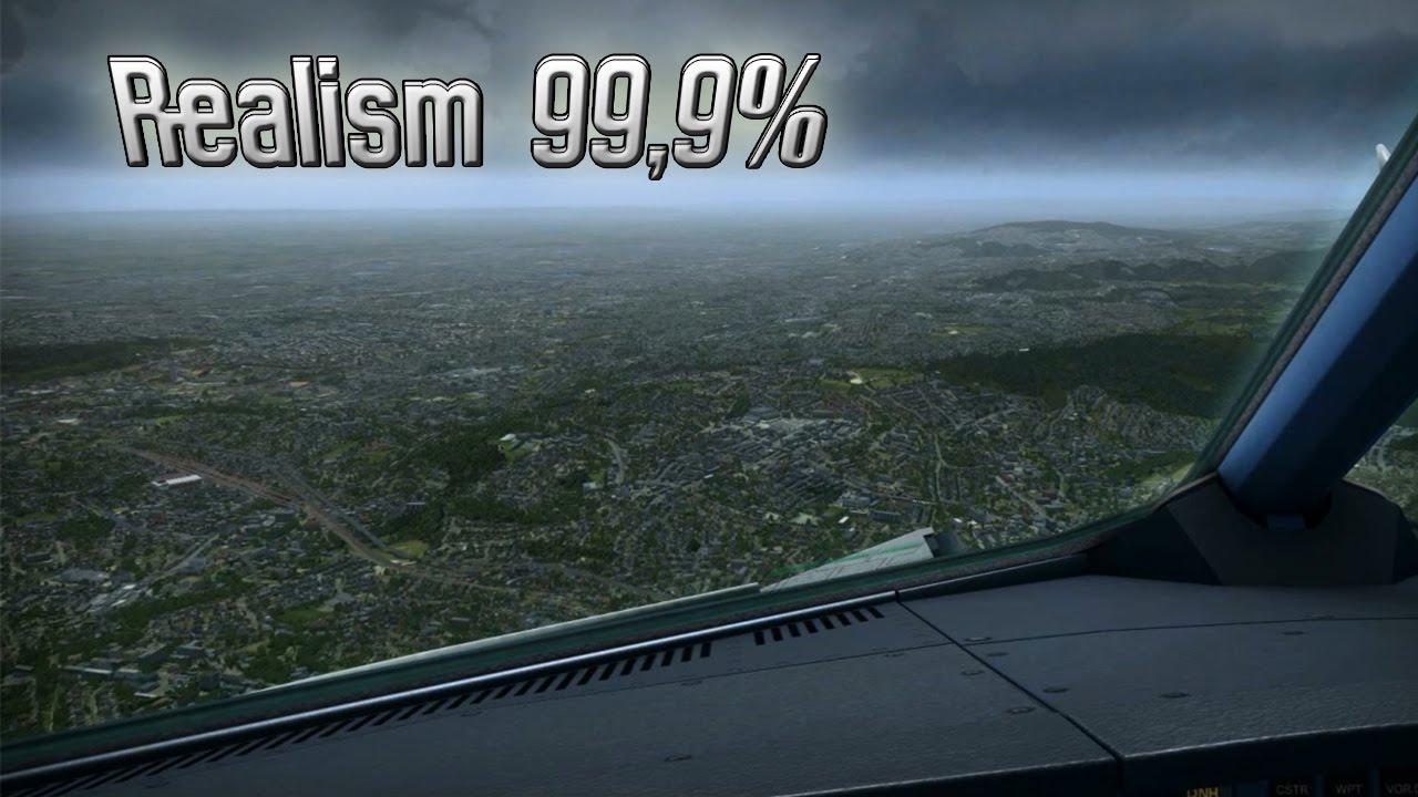 Extreme Graphics in Flight Simulator X [Realism 99,9%]