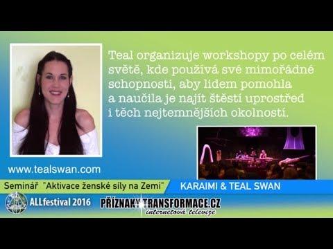 AKTIVACE ŽENSKÉ SÍLY Teal Swan a Karaimi na festivalu Alchymistické Litoměřice