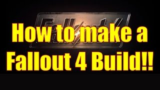 how to make a fallout 4 build how to spend your attribute points secret bonus point