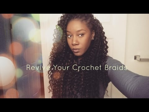 How To | Maintain CURLY & LUSCIOUS Crochet Braids w/ Ma ...