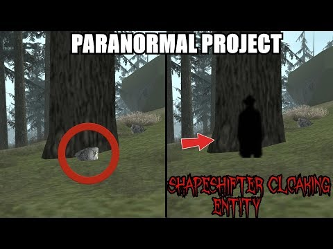SHAPESHIFTER WOODS CREATURE? CLOAKING ENTITY? BFT #4 - GTA San Andreas Myths - PARANORMAL PROJECT 99
