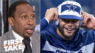 Dak Prescott Reportedly Turns Down $30m Cowboys Contract Offer | First Take