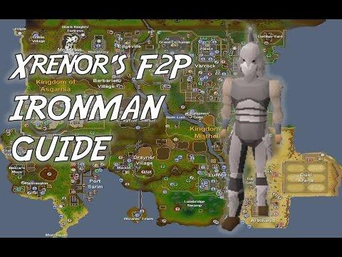 Old School RuneScape: F2P Ironman Guide [2015]