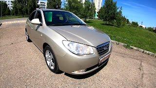 2010 Hyundai Elantra 1.6L (122) ТЕСТ И Обзор.