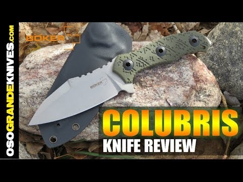 Boker Plus Colubris Fixed Blade EDC Knife Review   OsoGrandeKnives