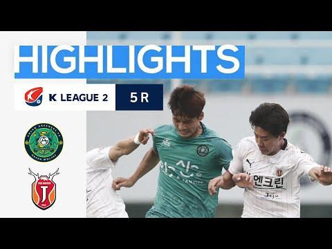 Ansan Greeners Jeju Utd Goals And Highlights